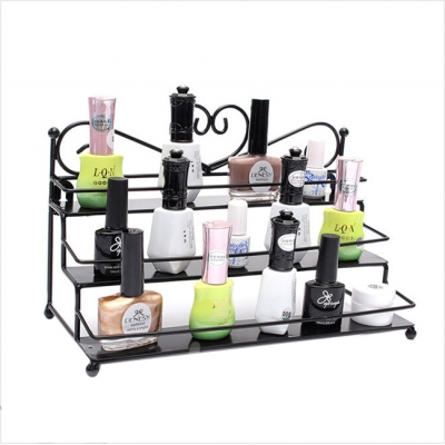 Metal Rack For Nail Polish Display