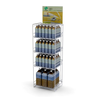 Bottle Display Shelves